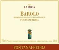 Fontanafredda Barolo Vigna La Rosa label