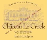 Château Le Crock  label