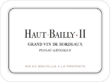Château Haut-Bailly II (formerly La Parde) label