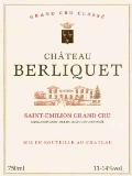 Château Berliquet  Grand Cru label