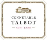 Château Talbot Connétable label