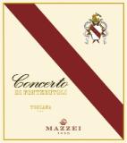 Castello di Fonterutoli (Mazzei) Concerto label