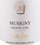 Domaine Drouhin-Laroze Musigny Grand Cru  label