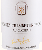 Domaine Drouhin-Laroze Gevrey-Chambertin Premier Cru Au Closeau label