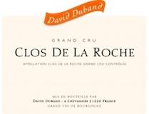 David Duband Clos de la Roche Grand Cru  label