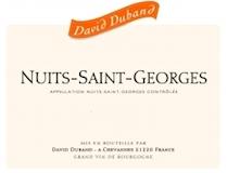 David Duband Nuits-Saint-Georges  label
