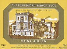 Château Ducru-Beaucaillou  Deuxième Cru label