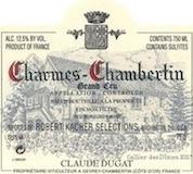 Domaine Claude Dugat Charmes-Chambertin Grand Cru  label