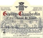 Domaine Claude Dugat Gevrey-Chambertin Premier Cru Lavaux Saint-Jacques label