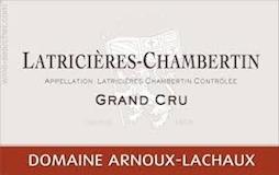 Domaine Arnoux-Lachaux (ex Robert Arnoux) Latricières-Chambertin Grand Cru  label