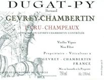 Domaine Bernard Dugat-Py Gevrey-Chambertin Premier Cru Champeaux Vieilles Vignes label