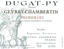 Domaine Bernard Dugat-Py Gevrey-Chambertin Premier Cru  label