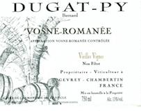 Domaine Bernard Dugat-Py Vosne-Romanée Vieilles vignes label