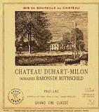 Château Duhart-Milon  Quatrième Cru label