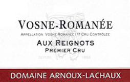 Domaine Arnoux-Lachaux (ex Robert Arnoux) Vosne-Romanée Premier Cru Aux Reignots label