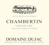 Domaine Dujac Chambertin Grand Cru  label