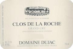 Domaine Dujac Clos de la Roche Grand Cru  label