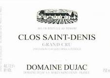 Domaine Dujac Clos Saint-Denis Grand Cru  label