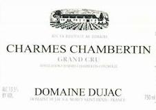 Domaine Dujac Charmes-Chambertin Grand Cru  label