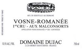 Domaine Dujac Vosne-Romanée Premier Cru Aux Malconsorts label