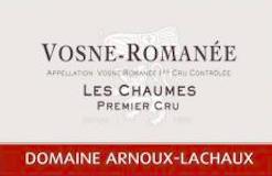 Domaine Arnoux-Lachaux (ex Robert Arnoux) Vosne-Romanée Premier Cru Les Chaumes label