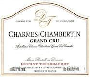 Dupont Tisserandot Charmes-Chambertin Grand Cru  label