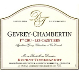 Dupont Tisserandot Gevrey-Chambertin Premier Cru Les Cazetiers label