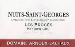Domaine Arnoux-Lachaux (ex Robert Arnoux) Nuits-Saint-Georges Premier Cru Les Procès label
