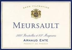 Arnaud Ente Meursault  label