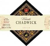 Viñedo Chadwick Chadwick label