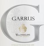 Château d' Esclans Garrus label