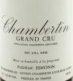 Frédéric Esmonin Chambertin Grand Cru  label