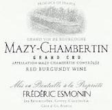 Frédéric Esmonin Mazis-Chambertin Grand Cru  label