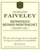 Domaine Faiveley Bienvenues-Bâtard-Montrachet Grand Cru  label