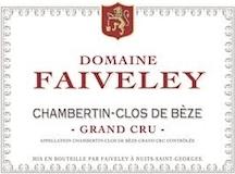 Domaine Faiveley Chambertin Clos de Bèze Grand Cru  label