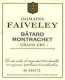 Domaine Faiveley Bâtard-Montrachet Grand Cru  label