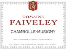 Domaine Faiveley Chambolle-Musigny  label