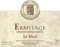 Ferraton Père & Fils Hermitage Ermitage Le Méal label