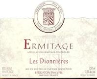 Ferraton Père & Fils Hermitage Ermitage Les Dionnières label