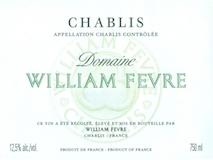 Domaine William Fèvre Chablis  label