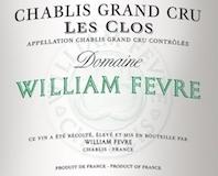Domaine William Fèvre Chablis Grand Cru Les Clos label