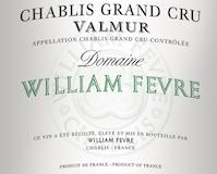 Domaine William Fèvre Chablis Grand Cru Valmur label