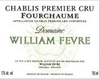 Domaine William Fèvre Chablis Premier Cru Fourchaume label