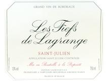 Château Lagrange Les Fiefs de Lagrange label