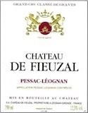 Château de Fieuzal Rouge Cru Classé de Graves label