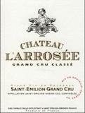 Château l'Arrosée  Grand Cru Classé label