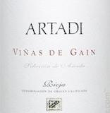 Artadi Rioja Viñas de Gain label