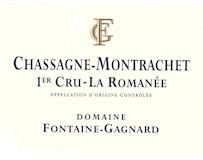 Domaine Fontaine-Gagnard Chassagne-Montrachet Premier Cru La Romanée label