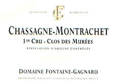 Domaine Fontaine-Gagnard Chassagne-Montrachet Premier Cru Clos des Murées label