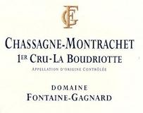 Domaine Fontaine-Gagnard Chassagne-Montrachet Premier Cru La Boudriotte label